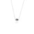 Coconut and Bliss x La Luna Rose Kintamani Necklace - SILVER