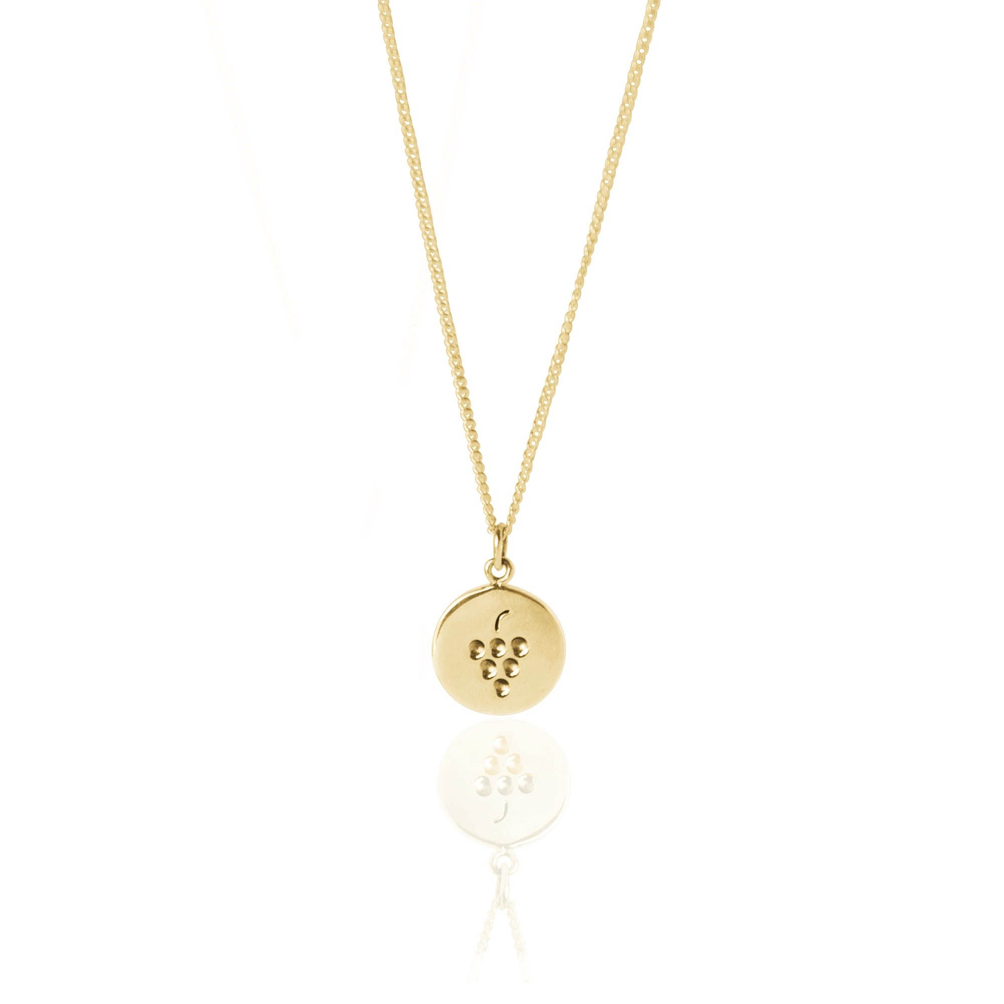 Coconut and Bliss x La Luna Rose Berry Crumble Necklace - GOLD