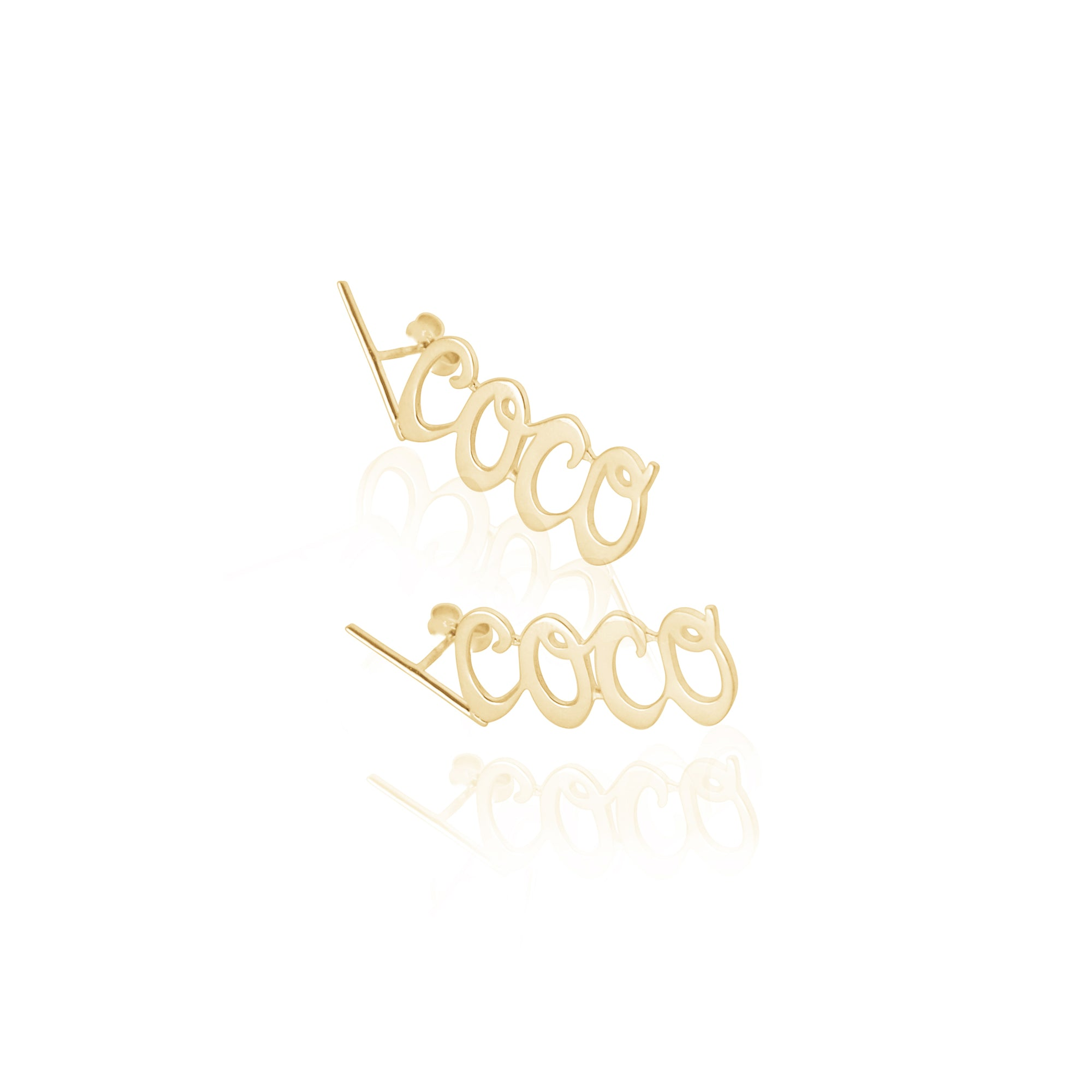 Coconut and Bliss x La Luna Rose COCO Earrings - GOLD