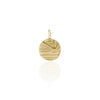 LA LUNA ROSE X GOLDFISH KISS SUNSET PENDANT - GOLD