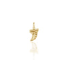 LA LUNA ROSE X GOLDFISH KISS SURF FIN CHARM - GOLD