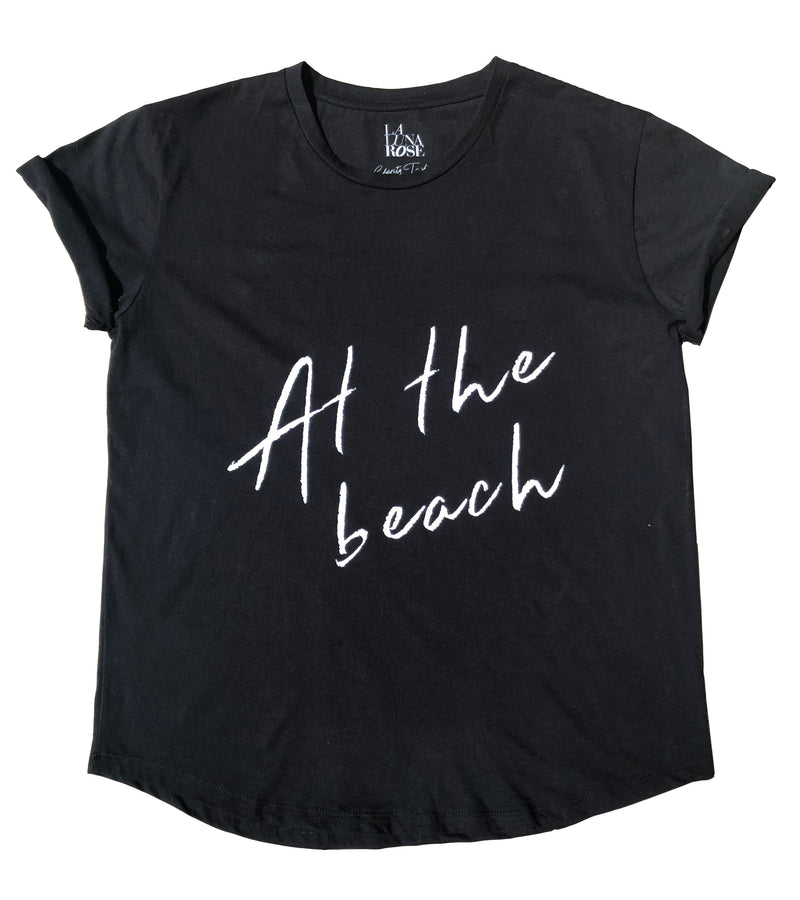 W/S -  'AT THE BEACH' T-Shirt