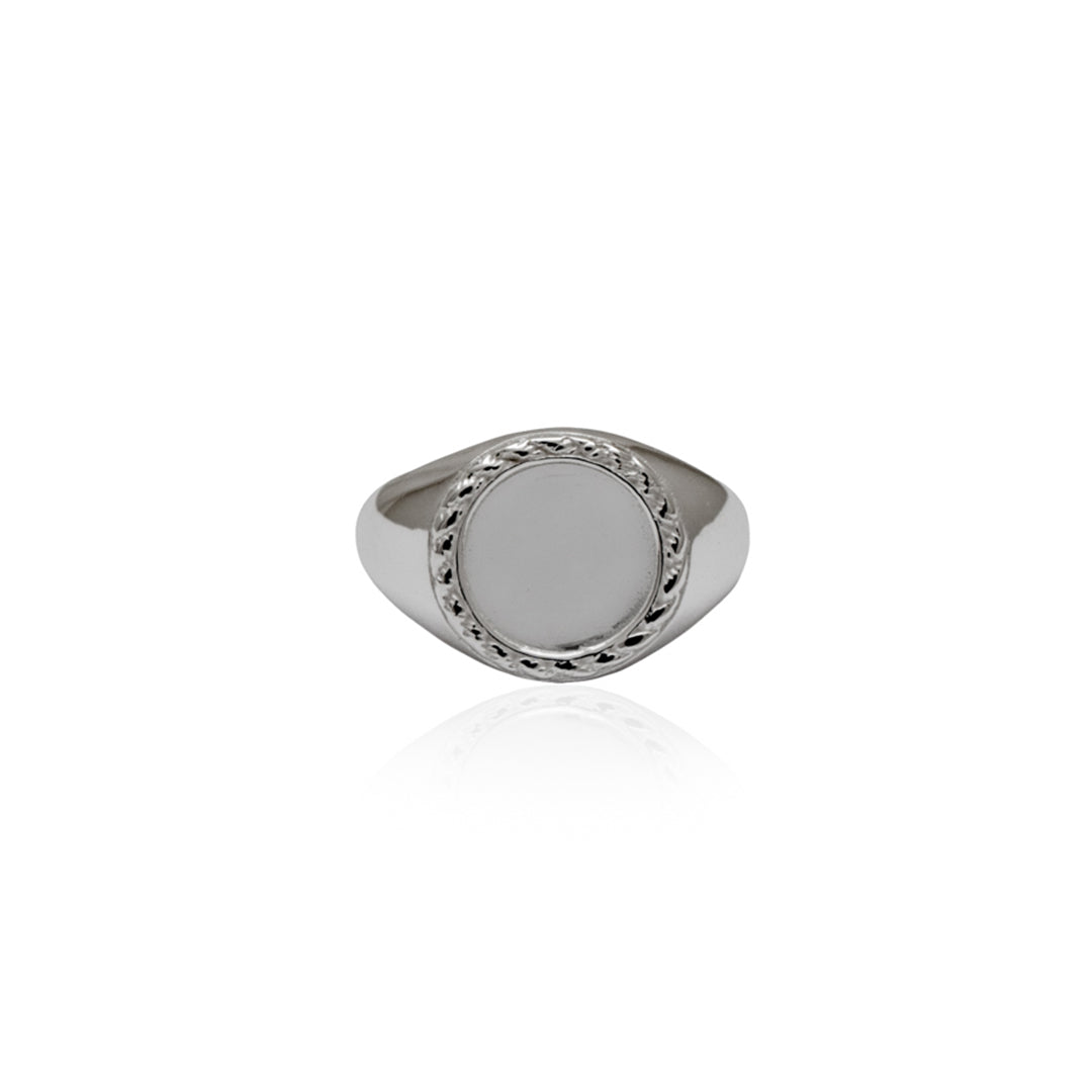 Love Shack Signet Ring - Silver