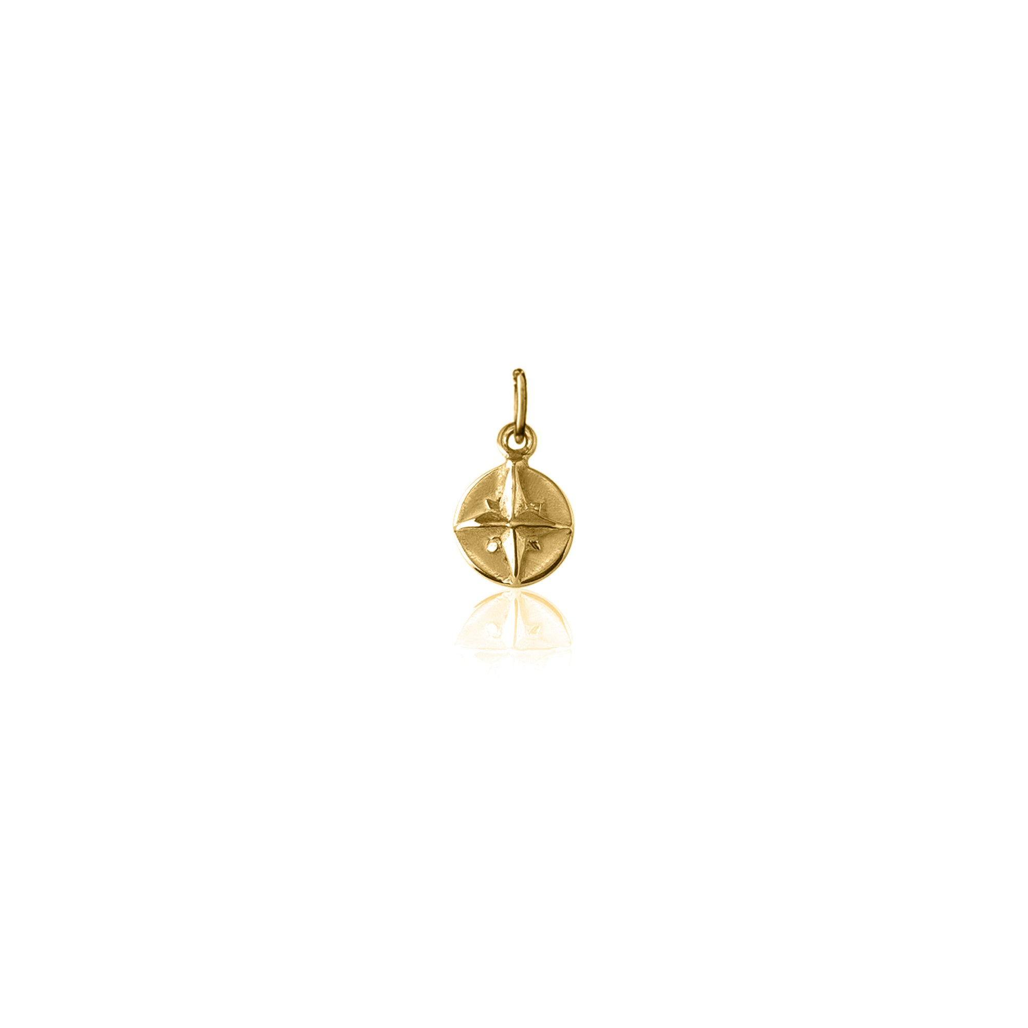 Born to roam Charm (Gold)
