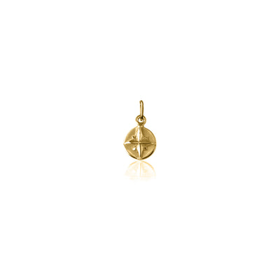 Born to Roam, Compass charm - Gold