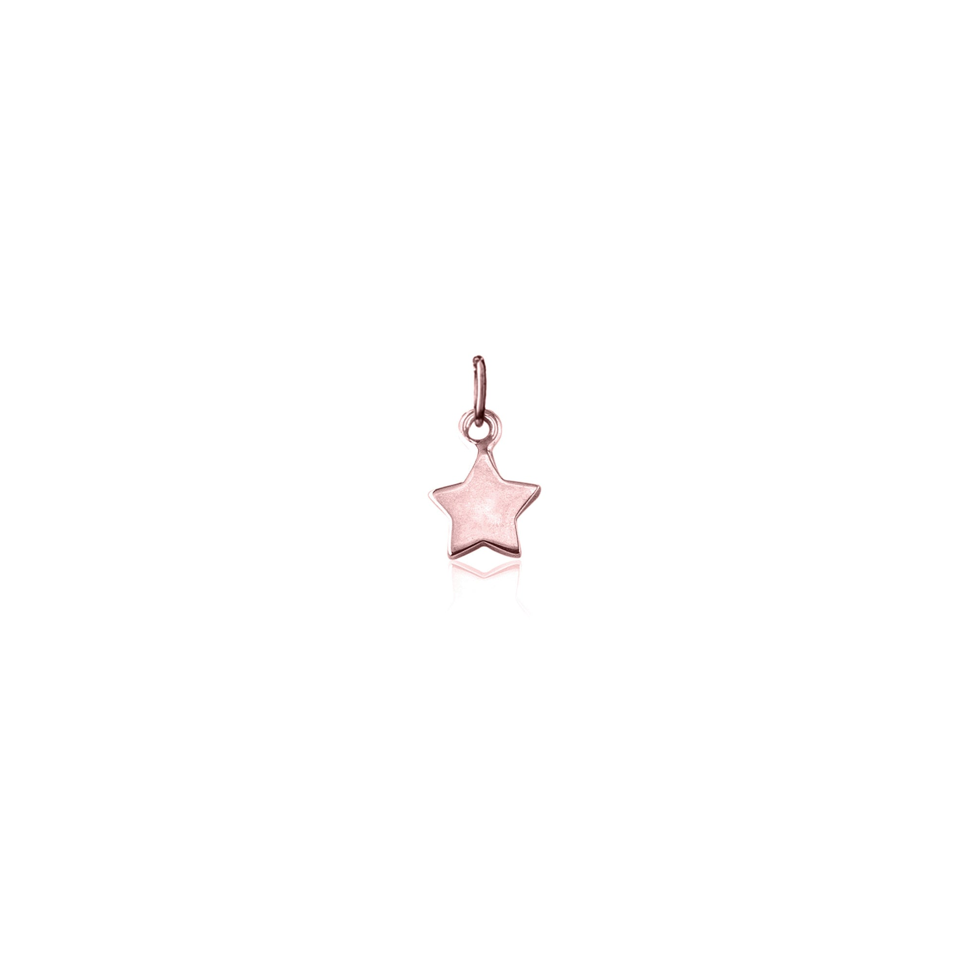 Rose Gold Star Charm - La Luna Rose Bon Voyage Collection