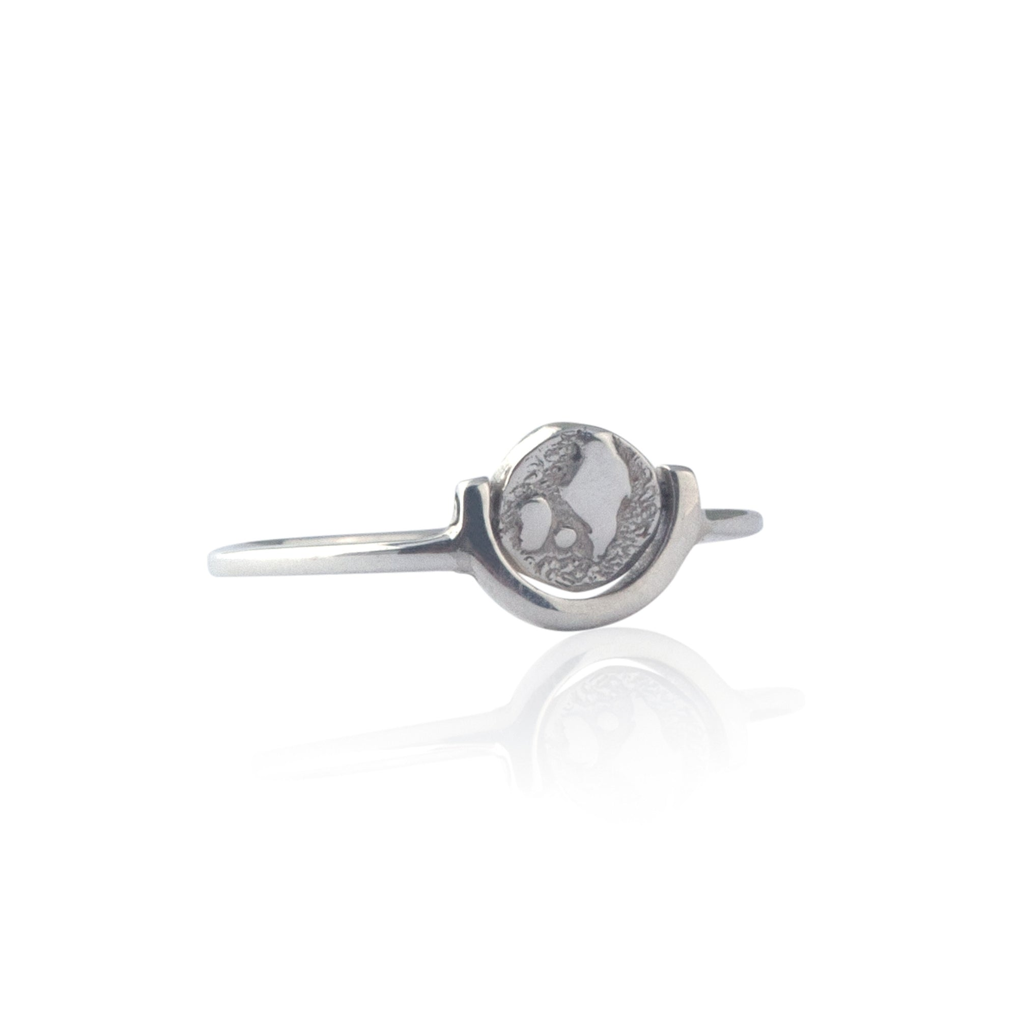 Globetrotter Ring (Silver)