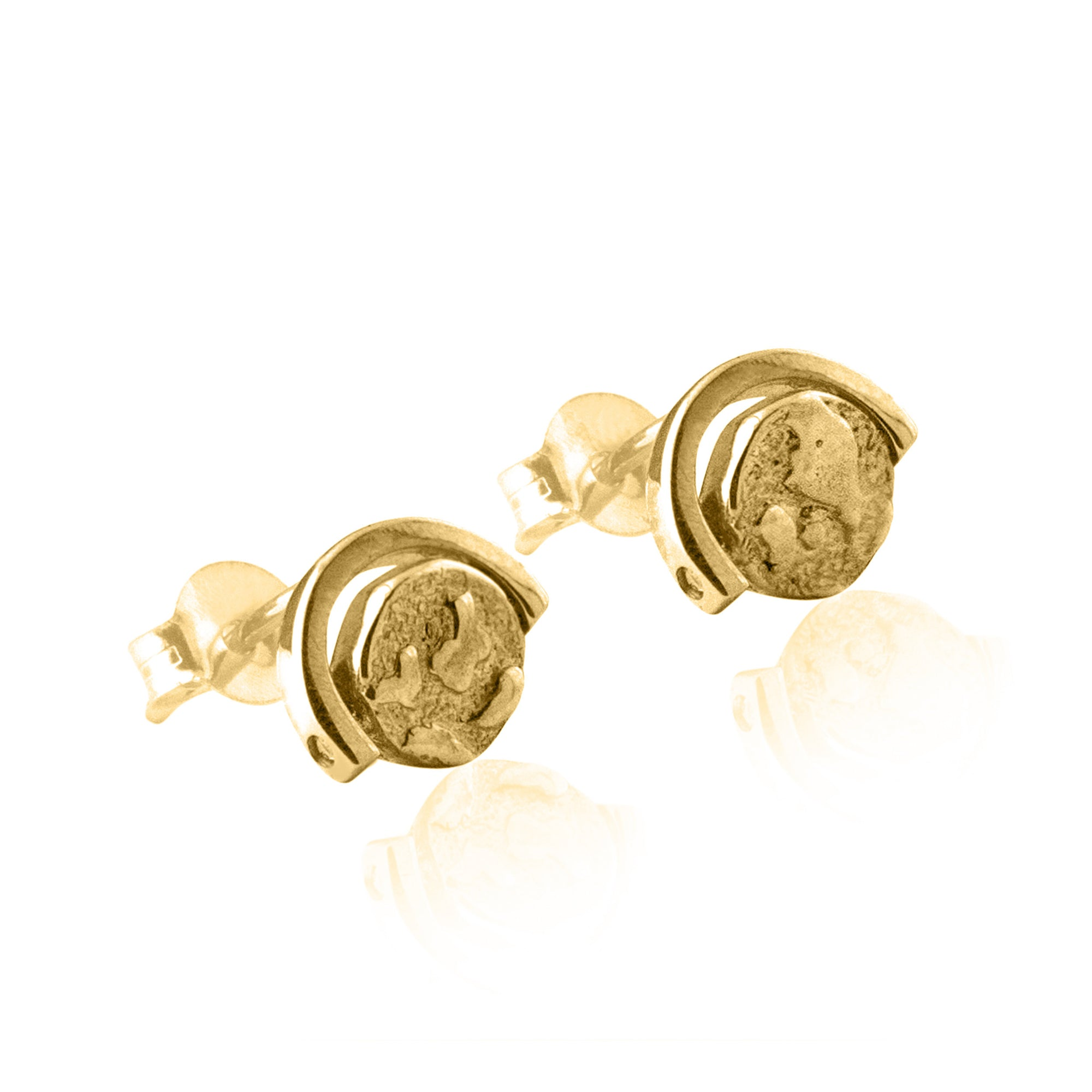 Globetrotter Spinning Globe Earrings