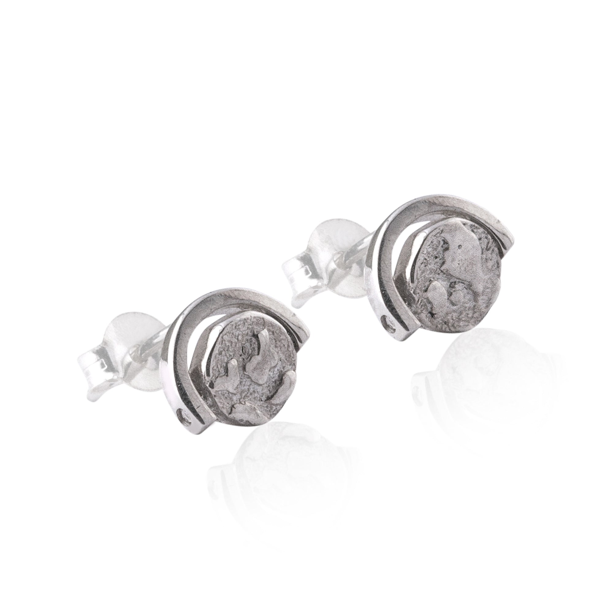 World Globe Earrings - Bon Voyage Collection of Jewellery by La Luna Rose