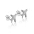 Just Plane Adventurous Earrings (Silver)