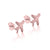 Just Plane Adventurous Earrings (Rose Gold)