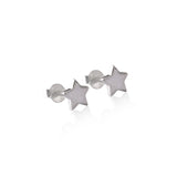 Silver Star Stud Earrings - Bon Voyage Collection