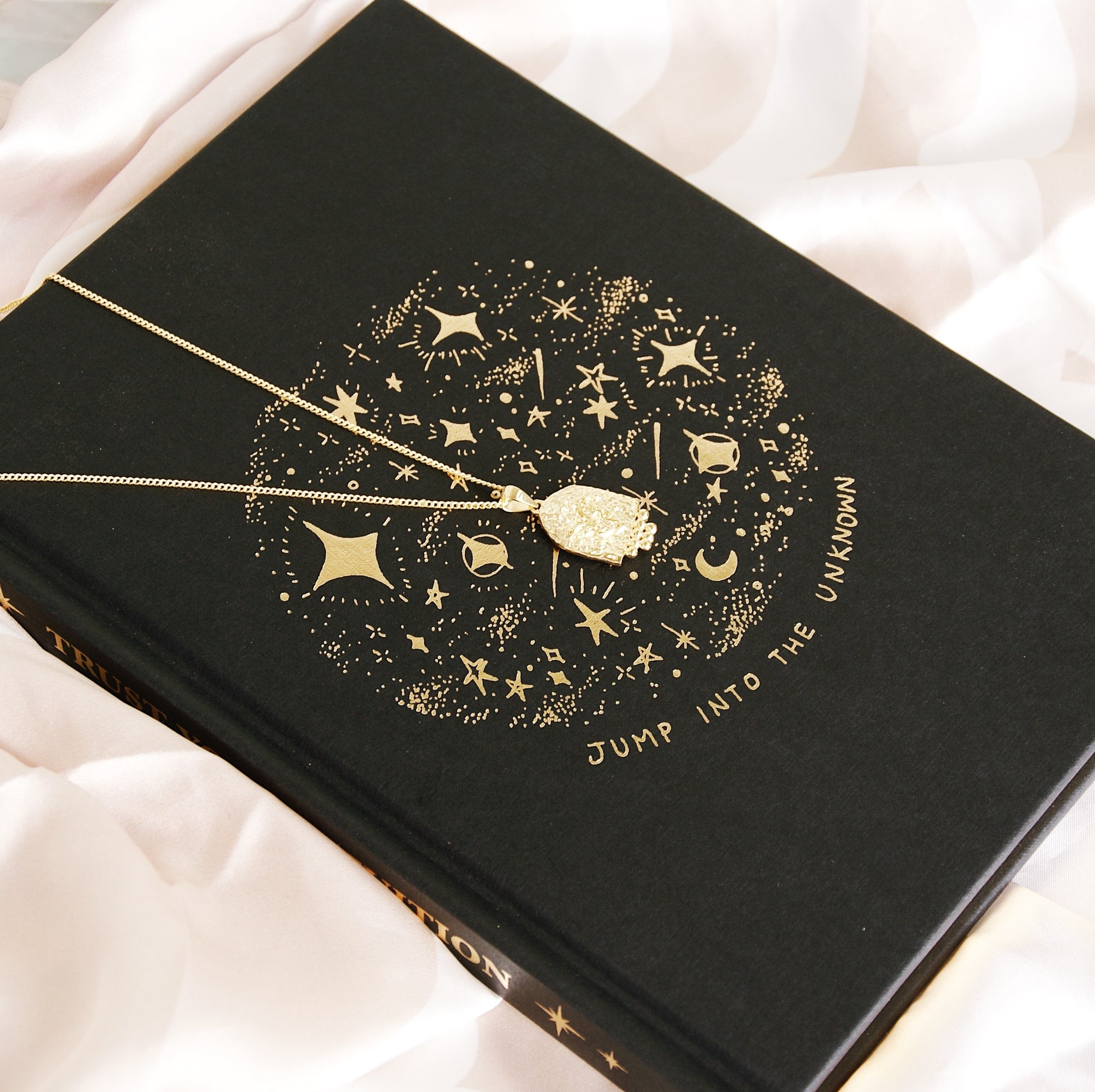 Beautiful 'Intuition' Hardcover Moon Zodiac Journal by Dreamymoons