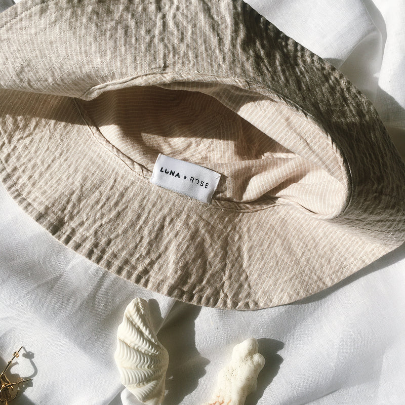 Bronte Bucket Hat - Oatmeal