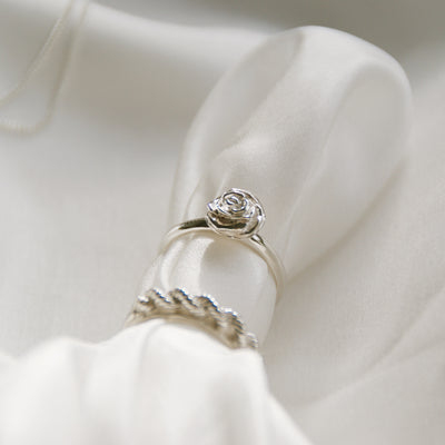 Luna & Rose Desert Rose Ring - Sterling Silver