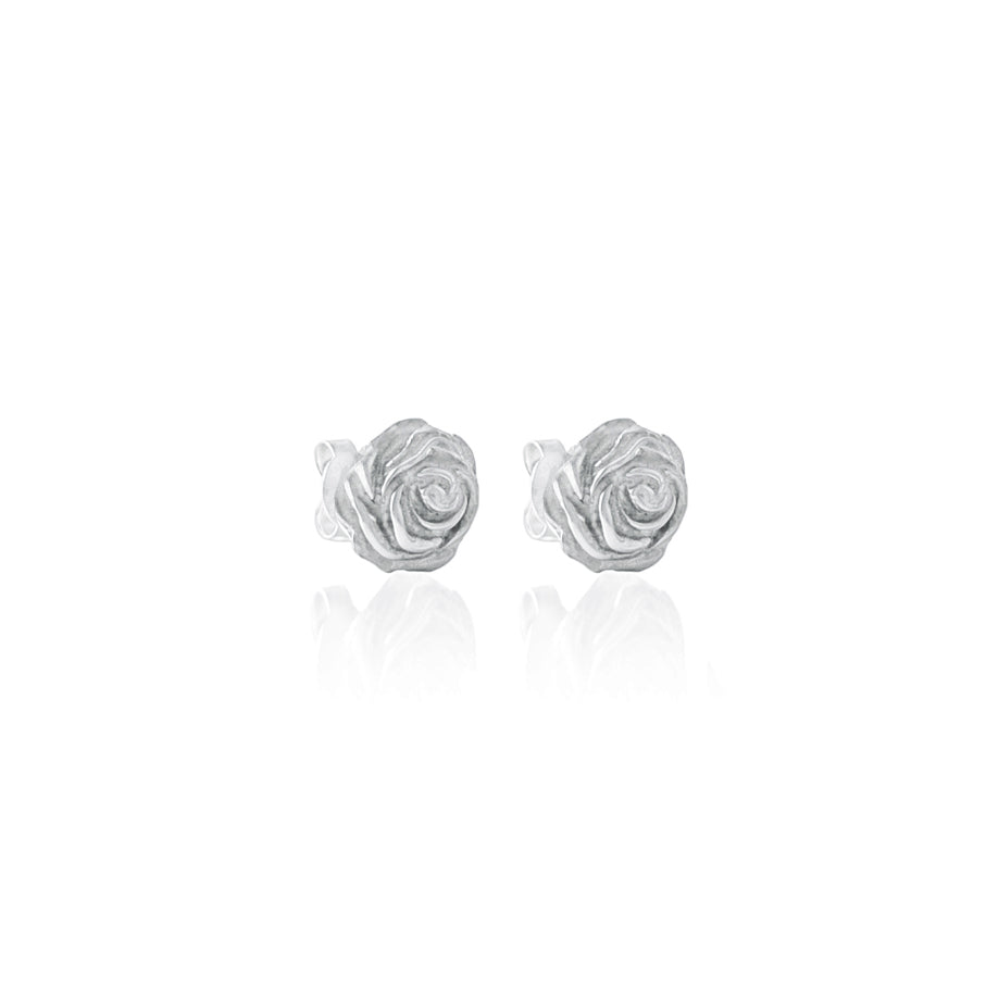 Desert Rose Earrings - Silver