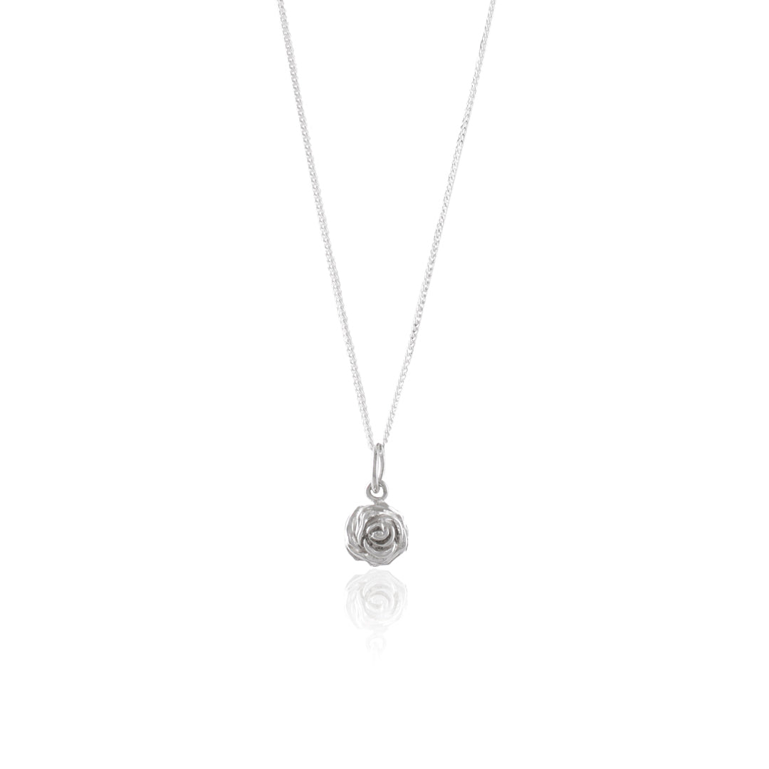 Luna & Rose Desert Rose Necklace in Silver
