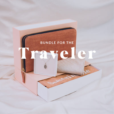 The Travel Lovers Gift Bundle - Silver