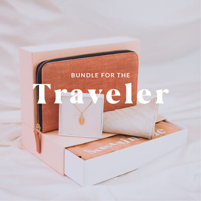 The Travel lovers Gift Bundle - Gold