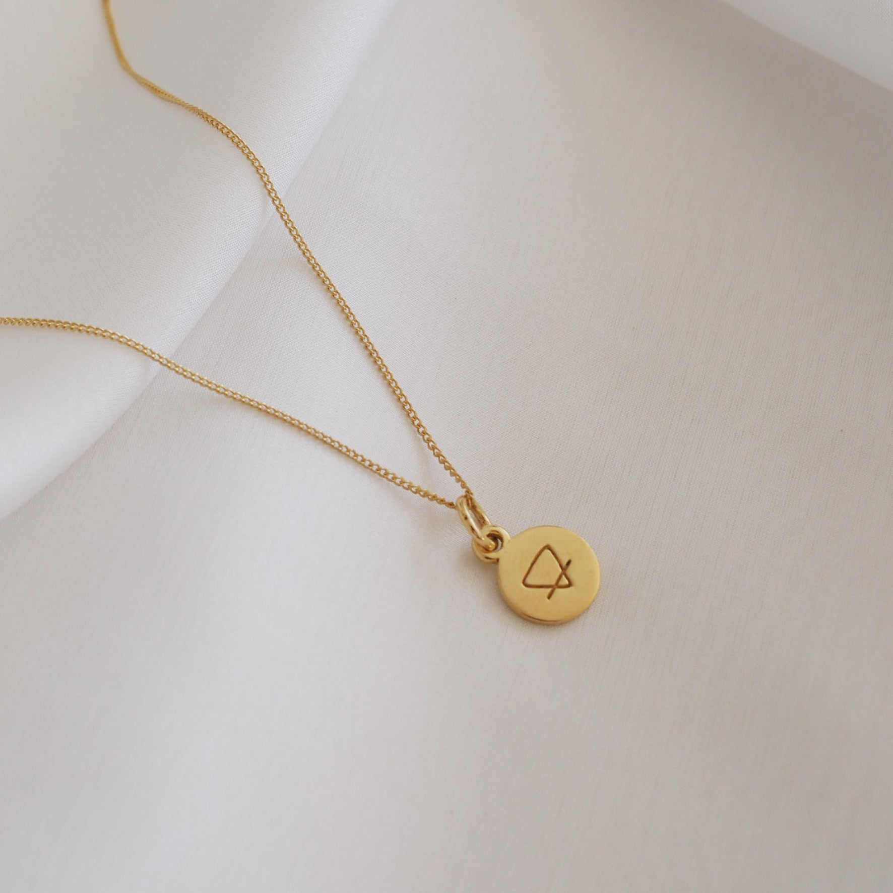 Earth Sign Mini Charm - Gold