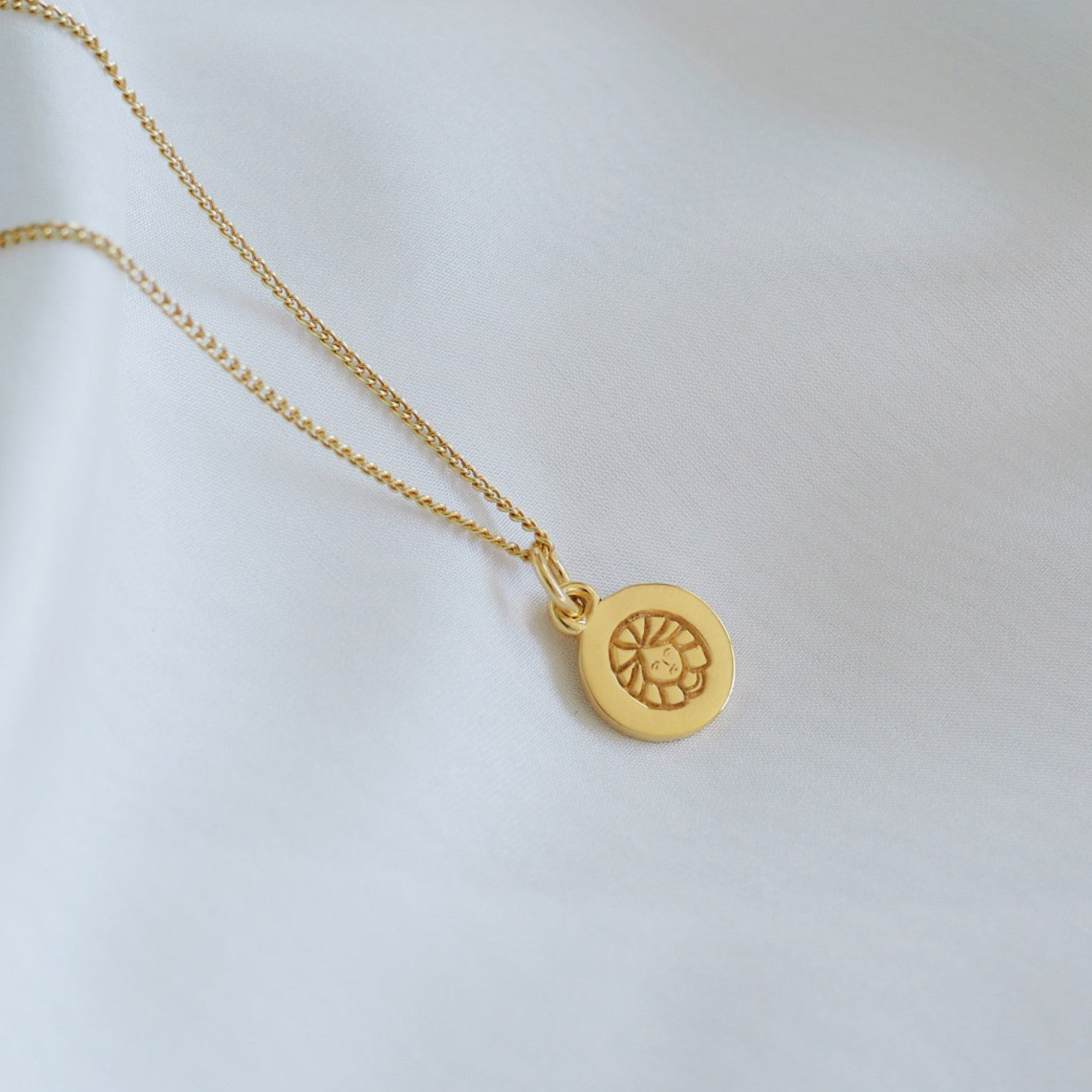 Virgo Mini Zodiac Charm - Gold