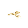 Yellow Gold - To the Moon and Back Ring