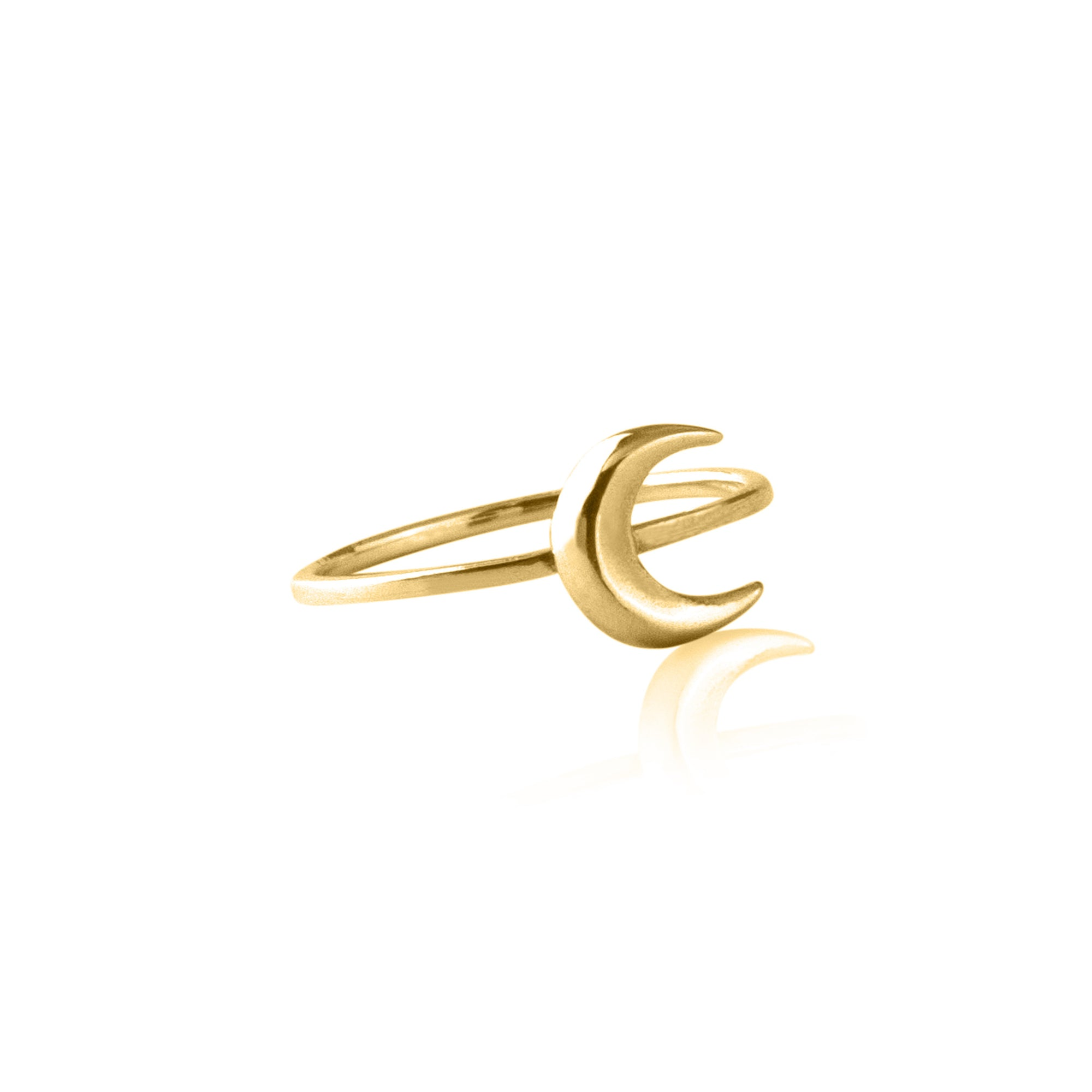 To the Moon and Back Ring (Gold)