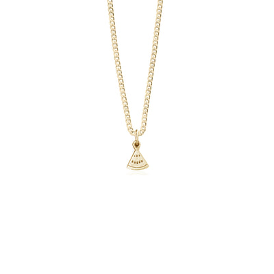 One in a Melon Charm on Everyday Chain in Gold