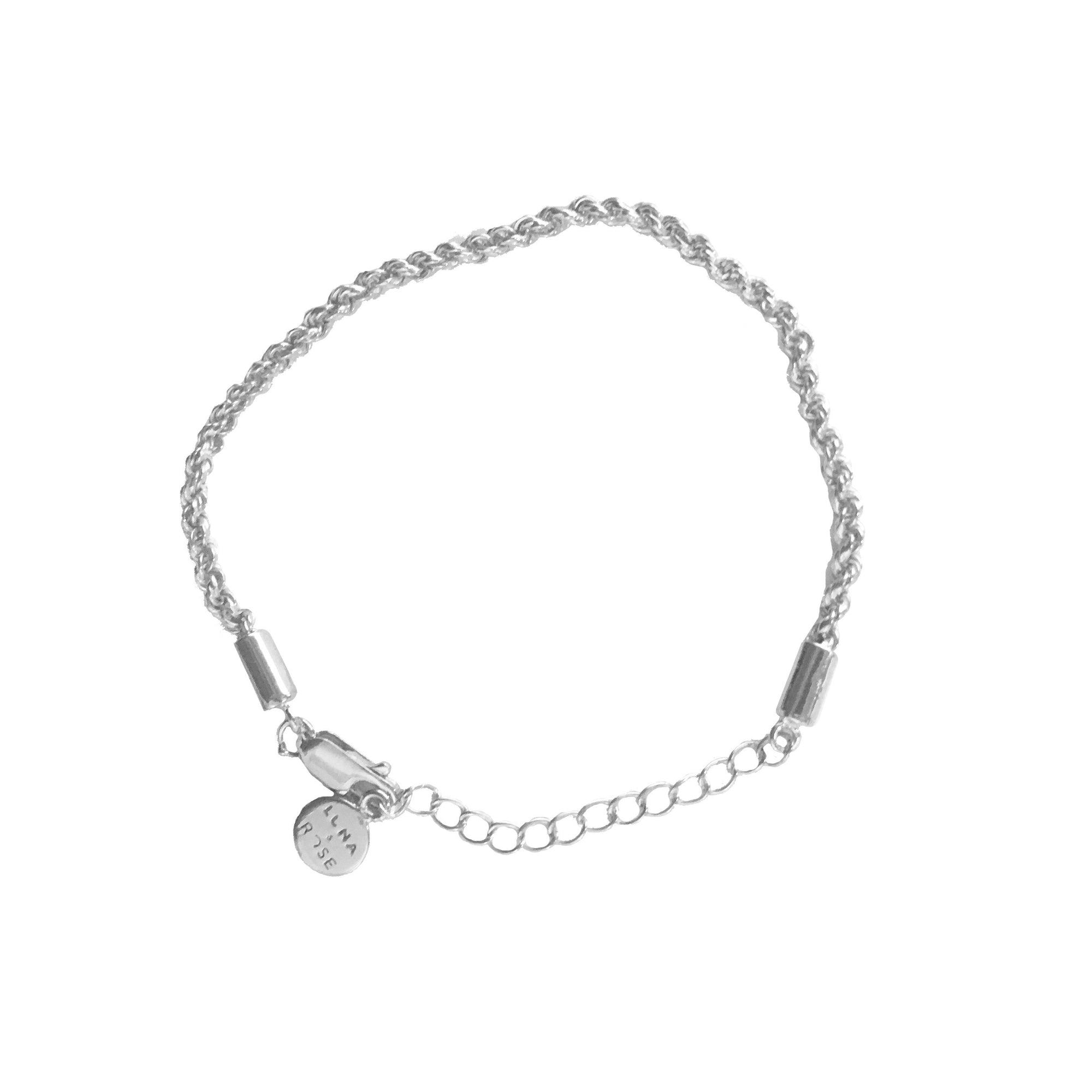 Luna & Rose Recycled Silver Jewellery Bracelet