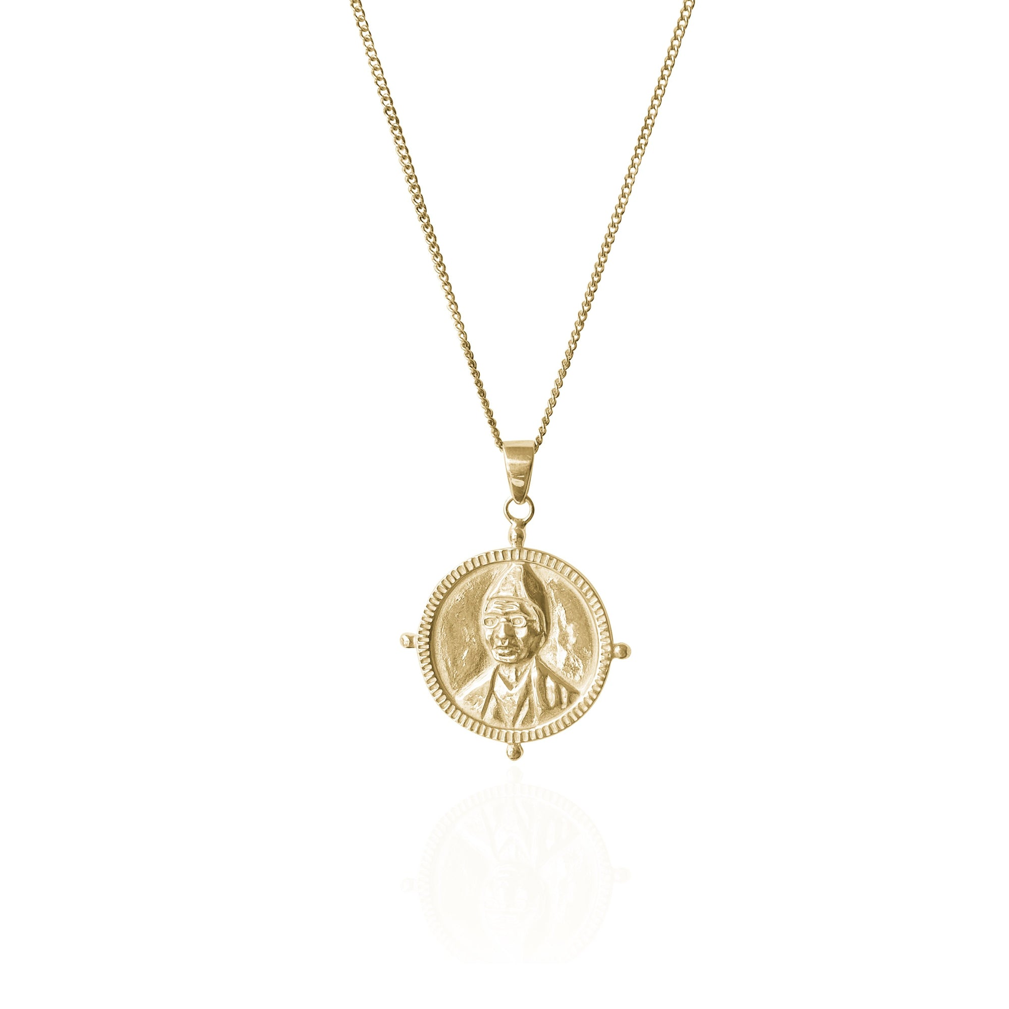 SOLID GOLD - SOJOURNER 'STRENGTH' NECKLACE