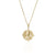 SOJOURNER 'STRENGTH' NECKLACE PENDANT - GOLD