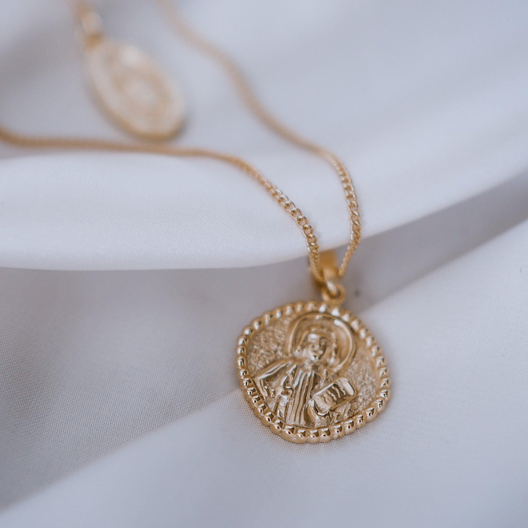 SOLID GOLD - St John - Patron Saint of Love & Friendships