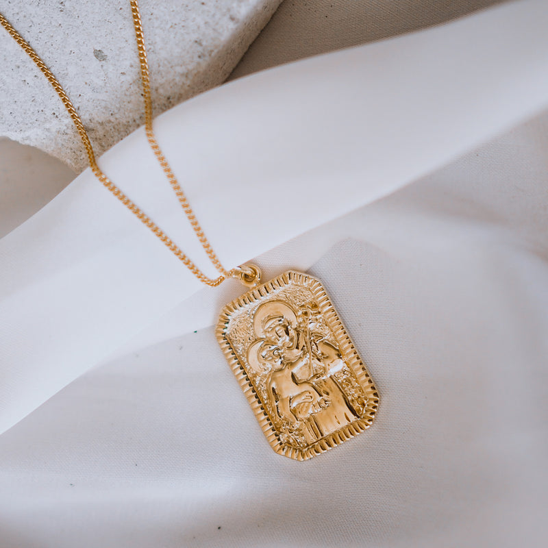 SOLID GOLD - St Anthony - Patron Saint of Miracles