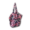Island Store Tropical Palm Printed Tote Bag Market Style with Internal Pocket