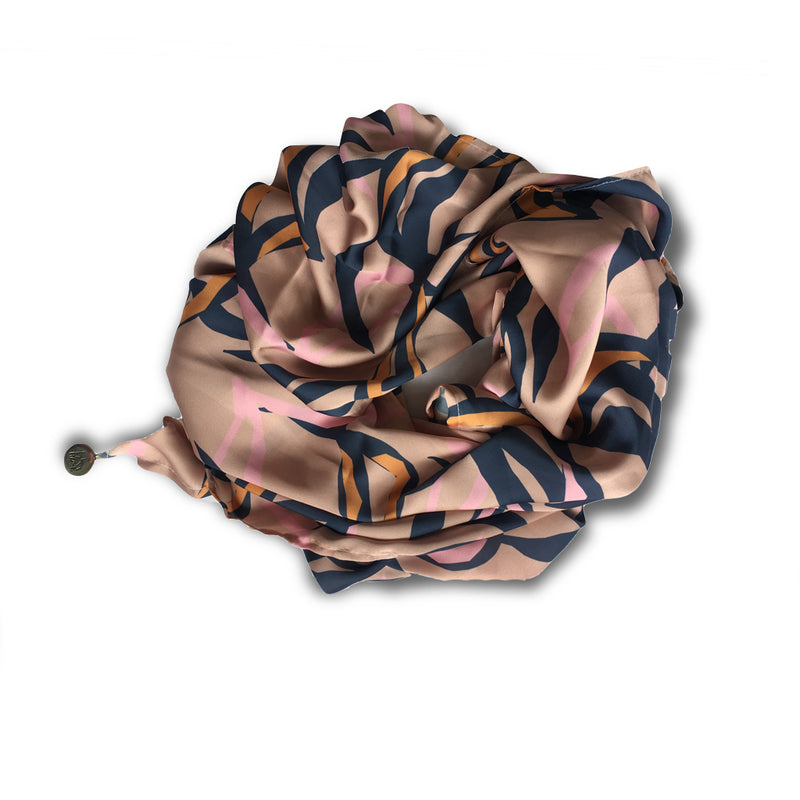 THE ULU SCARF - BLUSH