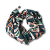 Island Store Tropical Bali Penida Palm Print Scarf in Blue