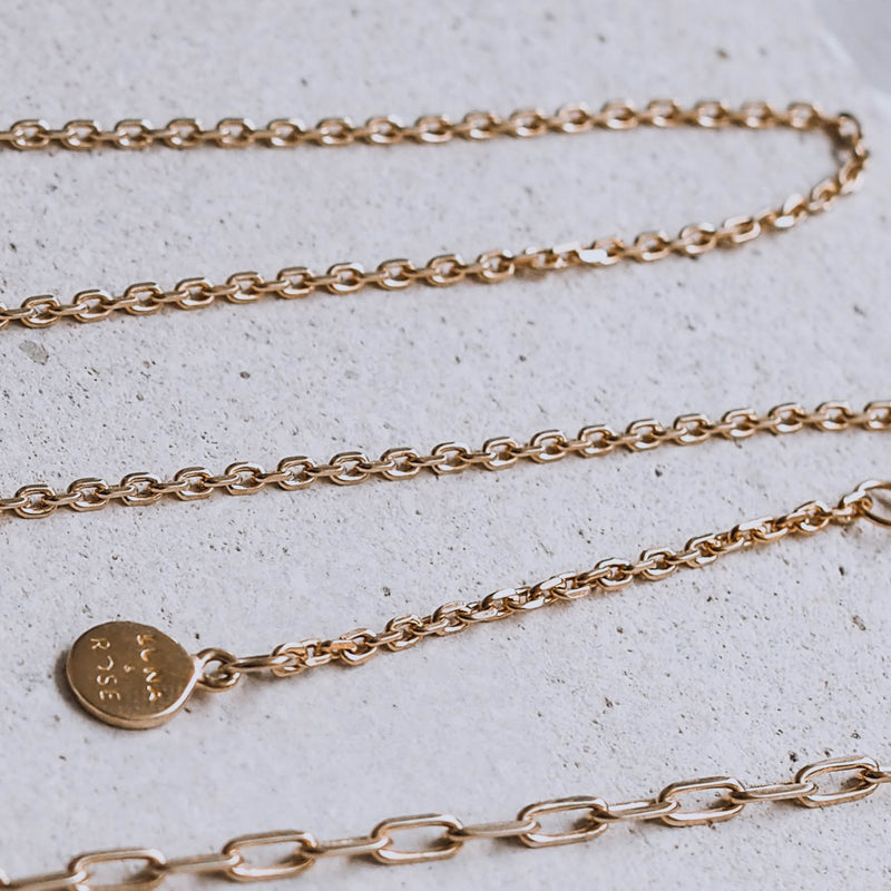 COMO CABLE CHAIN BRACELET - Gold