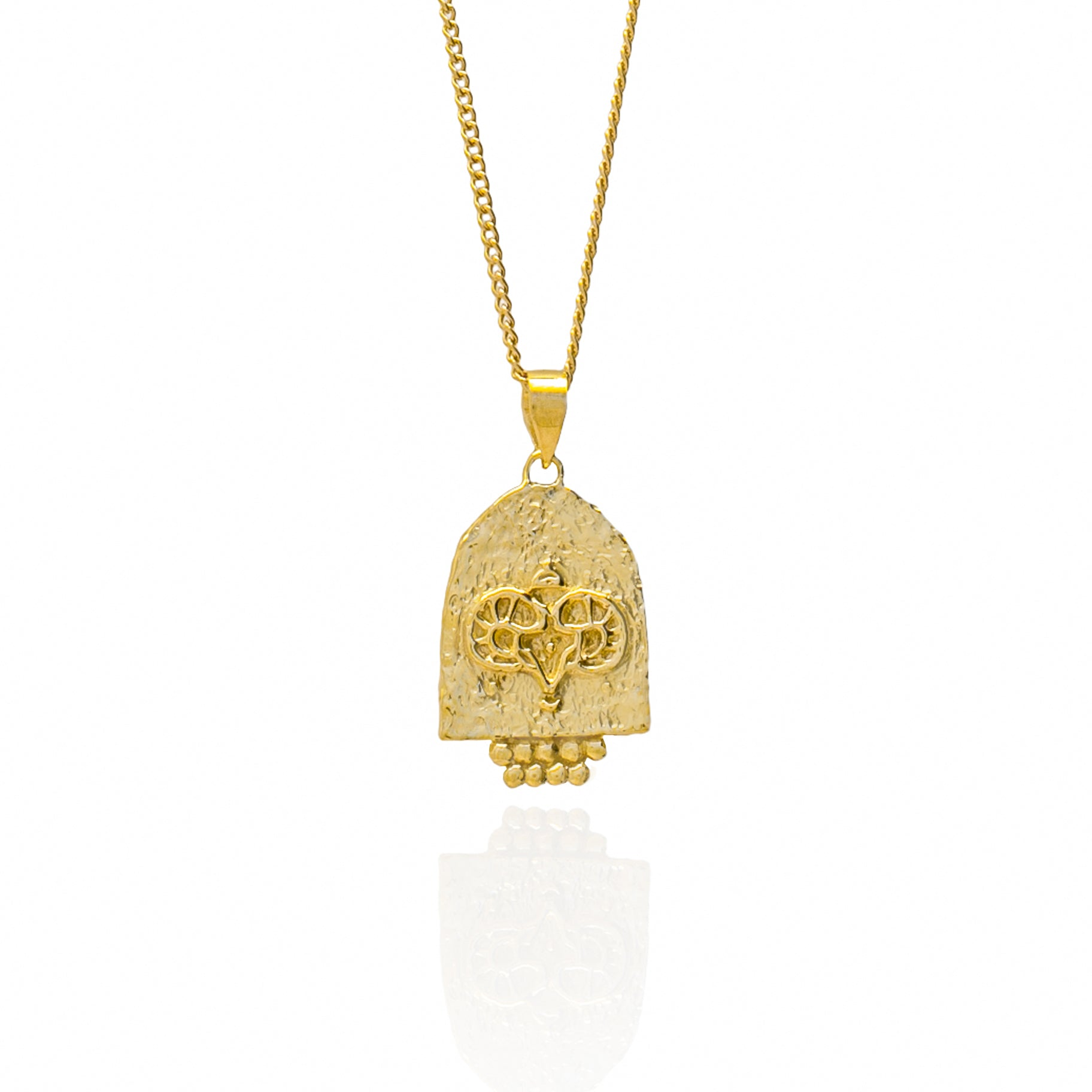 Luna & Rose ARIES ZODIAC PENDANT - GOLD