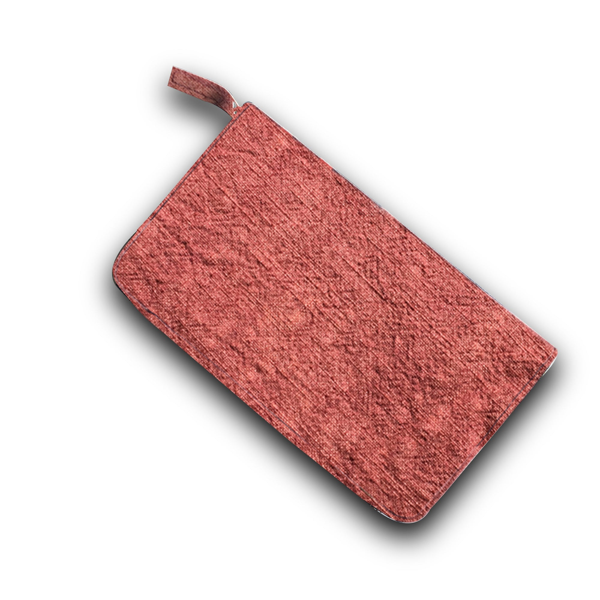 Travel Clutch in Organic Dyed Plant Based Material