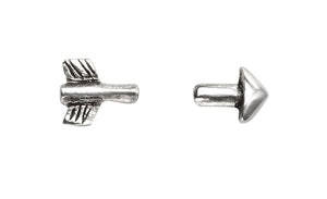 Split Arrow Studs