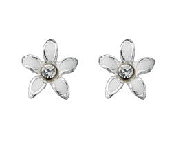 White Enamel Flower