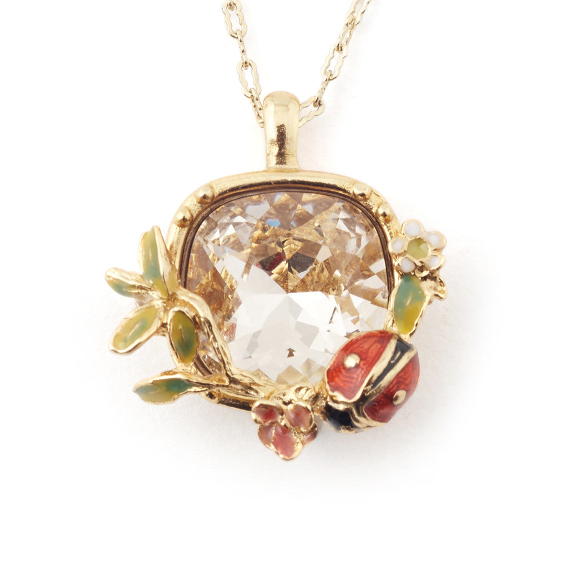 Scenes of Nature Ladybird Pendant