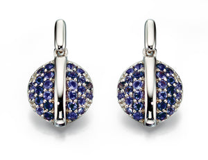ECLIPSE - Iolite Earings - Hallmark Goldsmiths