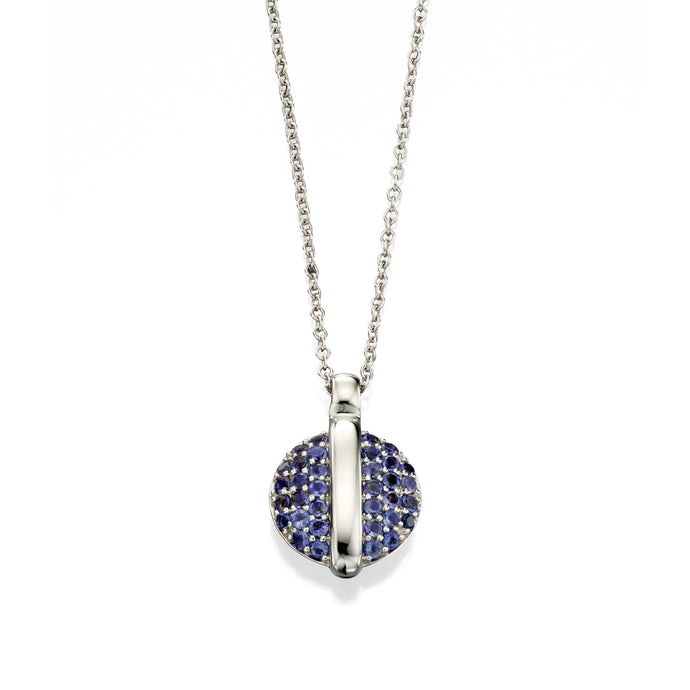 ECLIPSE - Iolite Necklace - Hallmark Goldsmiths