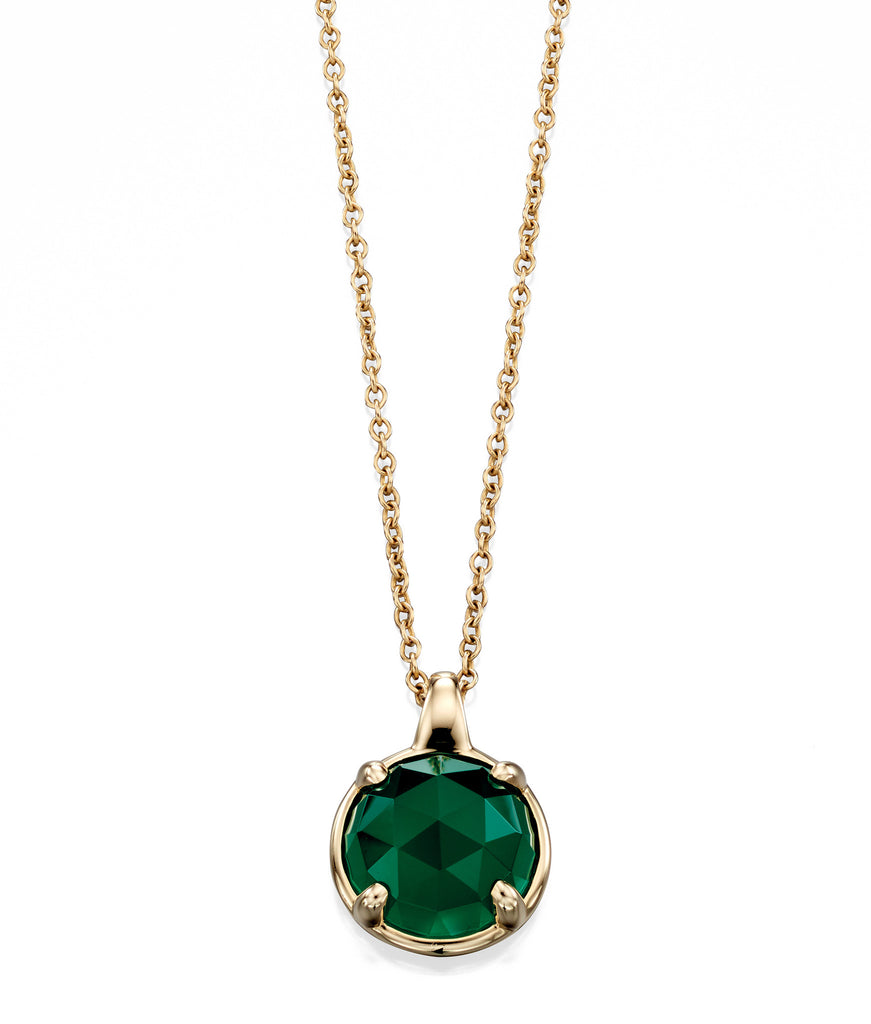 LUMINARY - Green Onyx Necklace - Hallmark Goldsmiths