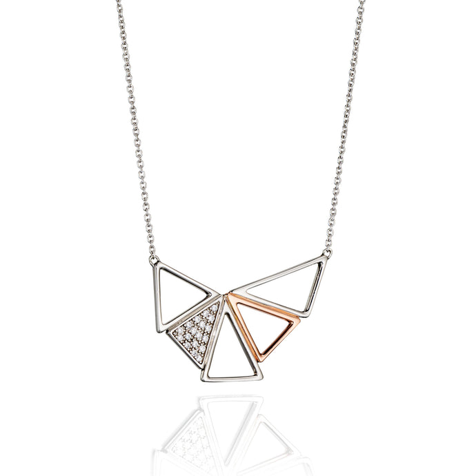 ANOTHER DIMENSION - Geometric Necklace