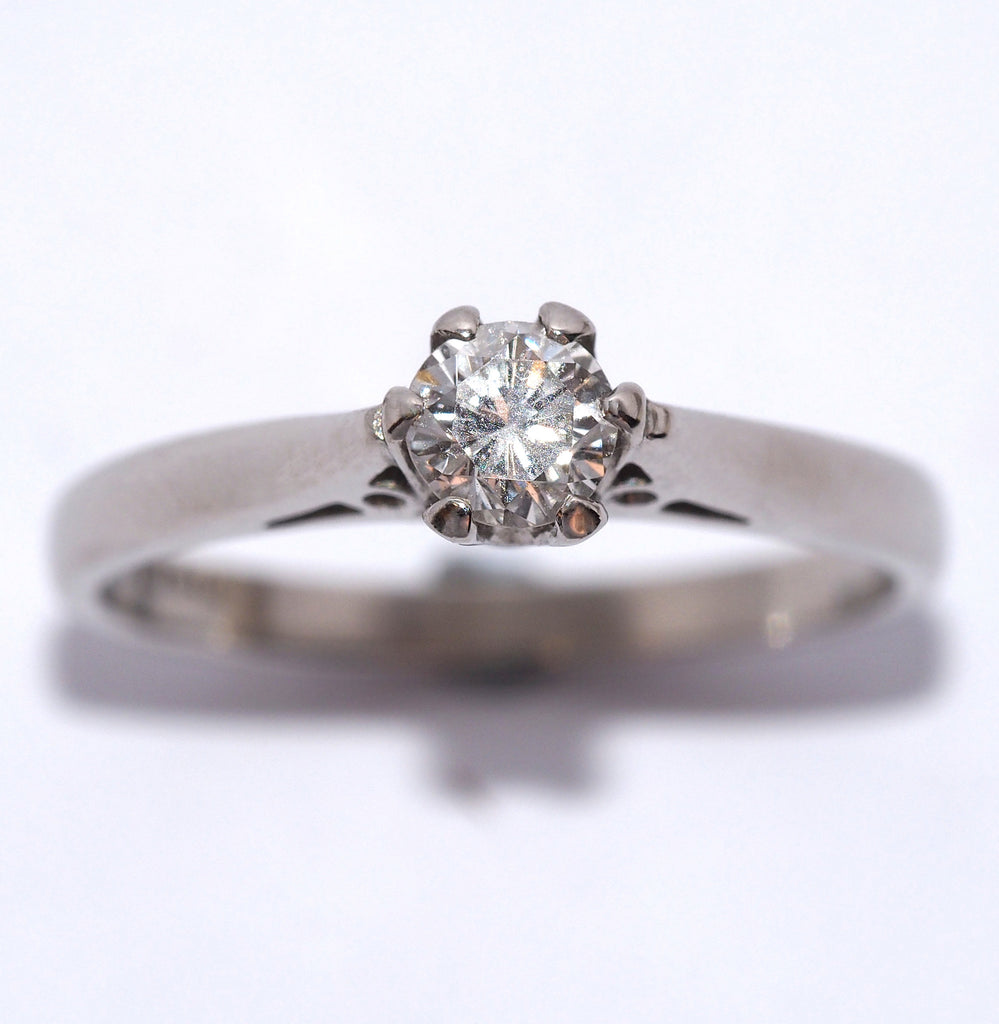 A Platinum and Diamond Solitaire