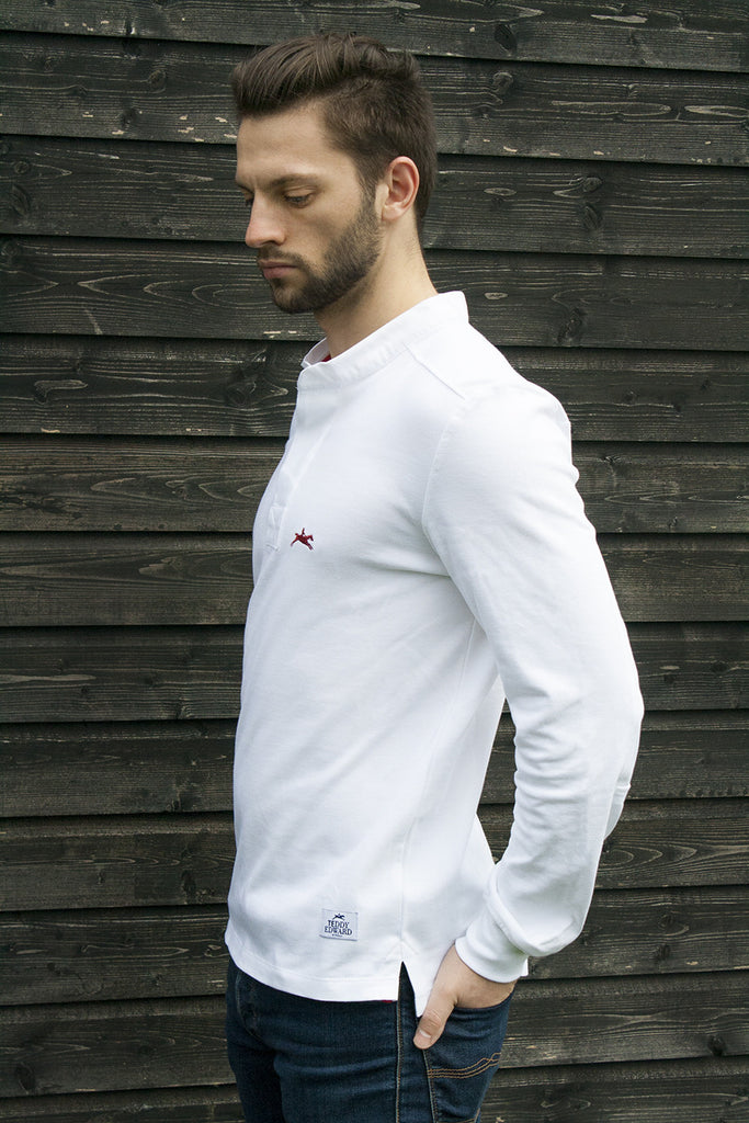 Limited Edition Mens rugby shirt. Made in Great Britain, 100% Cotton. Image 2