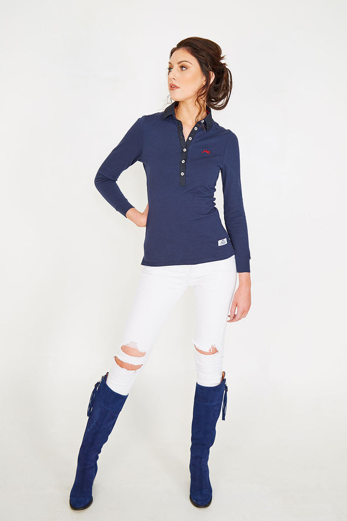 Blankney - Women's Luxury Heavy Weight Cotton Rugby Shirt
