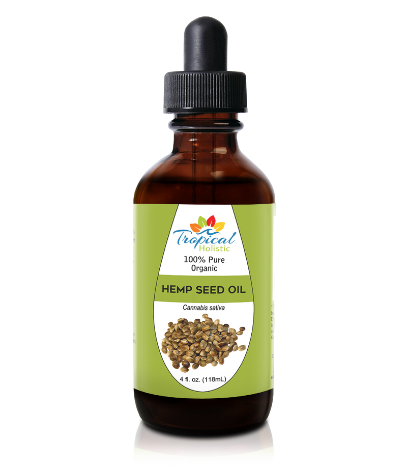 100% Pure Organic Hemp Seed Oil 4 oz